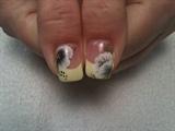 black white and yellow thumbs :)