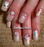 A lil glitter