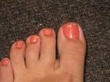 Rock Star Gel toes