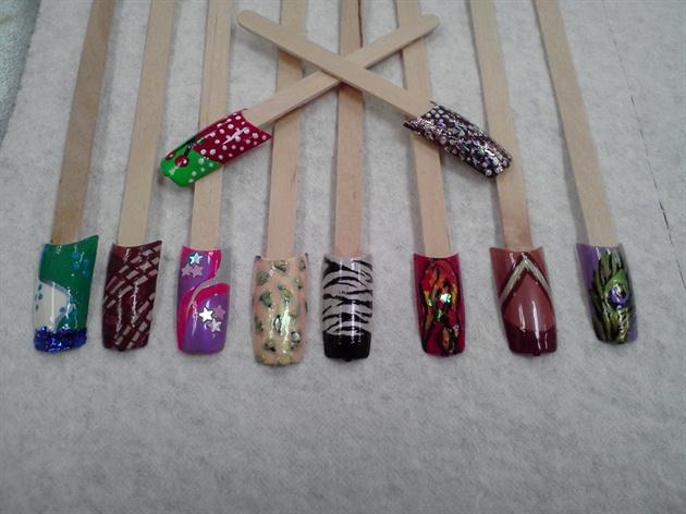 My first attempt at nail art