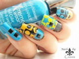 Nails by Cassis | Pop Geometric Stamping