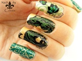Nails by Cassis | Contest entry - Green