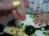 little girl manicure
