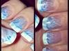 French W/ Blue Swirl