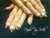 Fabric Leopard Nails