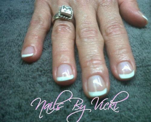 Shellac French Manicure