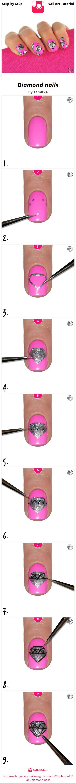 Diamond nails - Nail Art Gallery