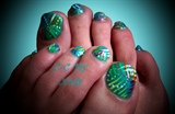 Handpainted Toes