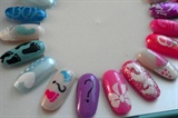 Baby Nail Art Wheel