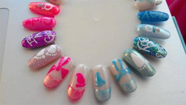Baby Nail Art Wheel 2