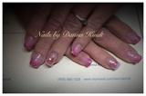 Pink Aquarium Nails