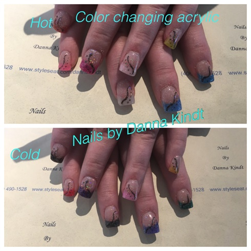 Color Changing Acrylic