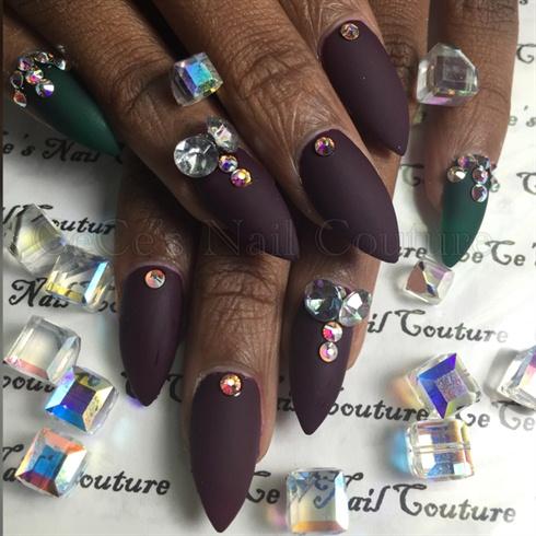 simple yet elegant  nail art gallery