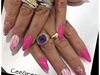 Cancer Awareness Nails Be aware Get test