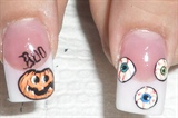 halloween thumbs free hand