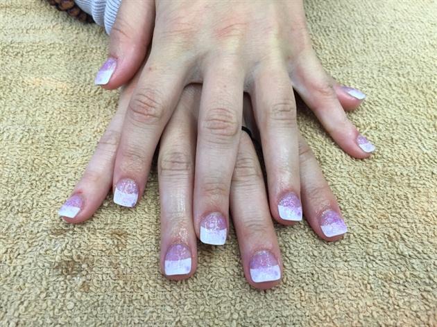 Lavender Glitter