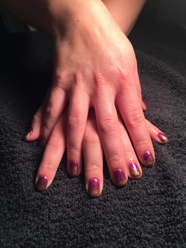 Copper/purple