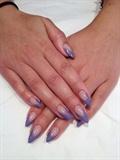 V-shaped purple