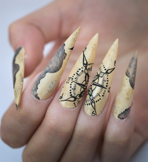 Nails Next Top Nail Artist First Pre Challange Nail Art Gallery