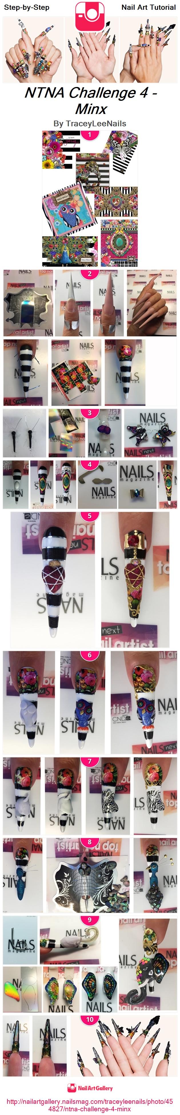 NTNA Challenge 4 - Minx - Nail Art Gallery