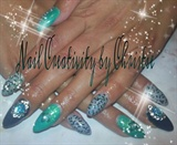 New Mexico Acrylic Nails Set