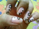 floral (black n white)
