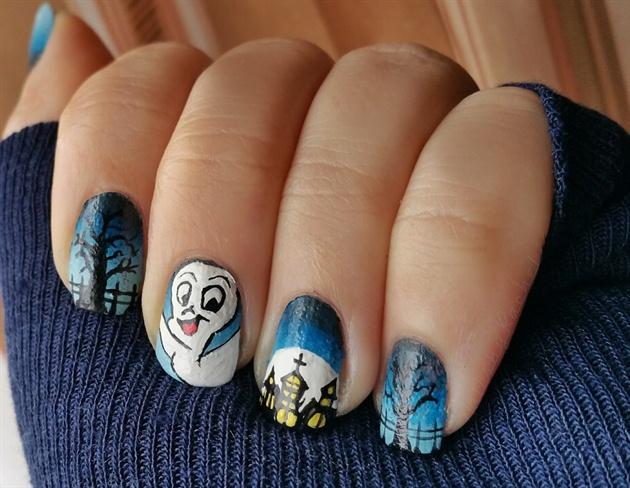 Casper the friendly ghost!