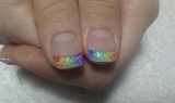 Simply Beautiful Rainbow Animal Print