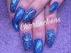Fullcover Blau + Glitzer