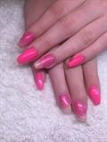 Neon Pink Glitzer