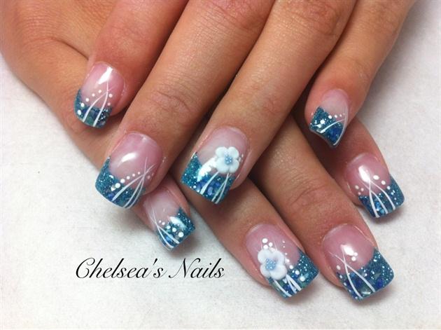 Turquoise embellished