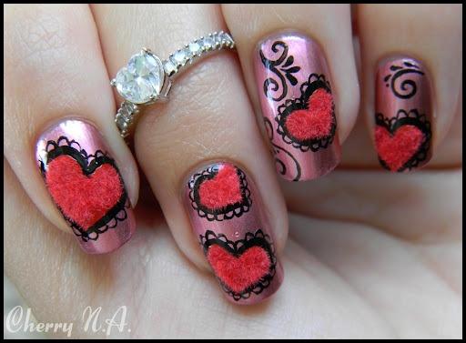 Nail art saint valentin - Nail Art Gallery
