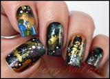 Nail art 2012 fin du monde