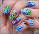 Nail art tag