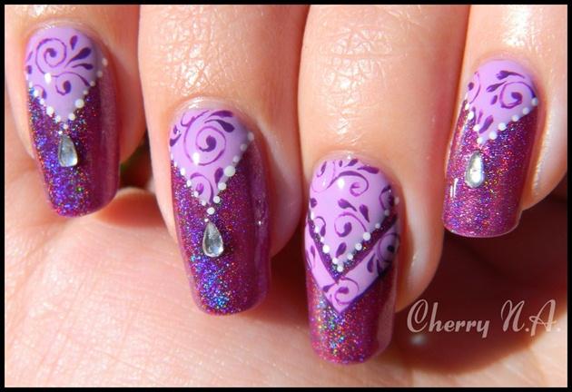 Nail Art Baroque Oriental Nail Art Gallery