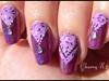 Nail art baroque oriental