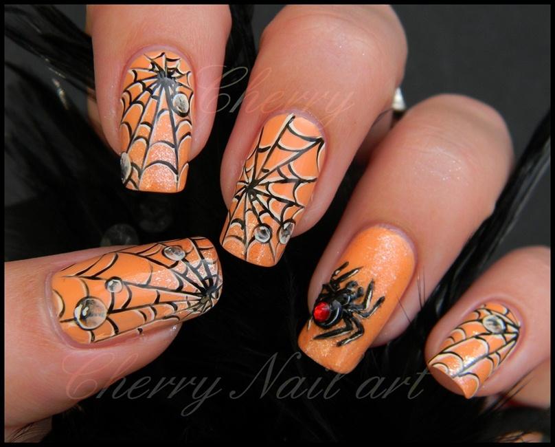Nail art halloween - Nail Art Gallery
