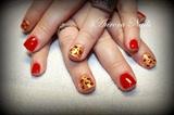 Red Cheetah Print