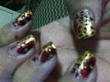 golden wild flower