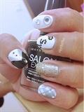 PSY Oppa Gangam style nails