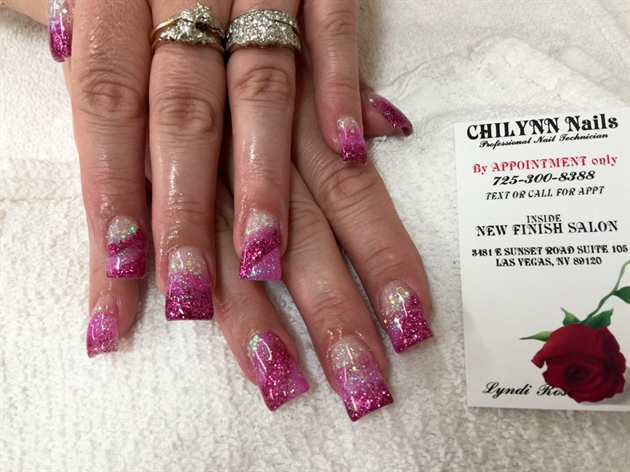 Glitter Acrylic Full Set