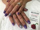 Hard Gel On Natural Nails W/ Gel Polish