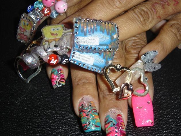 I Told U Im Da Best N Tampafl Nail Art Gallery