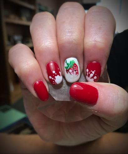Hand Drawn Strawberry