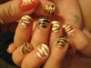 Lydia's tiger nails