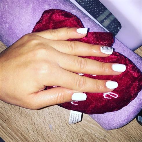 nails#gel#polish#white#natur#nagel#