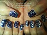Henna Tattoo on Nails