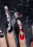 Right hand nail close ups..