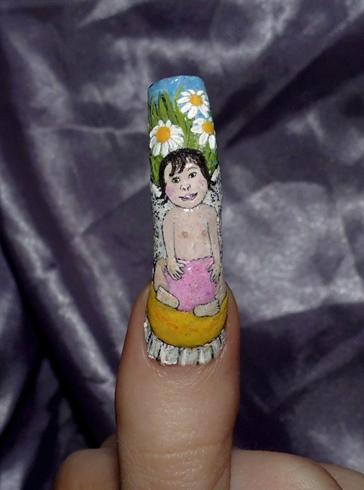 Baby daisy fairy.