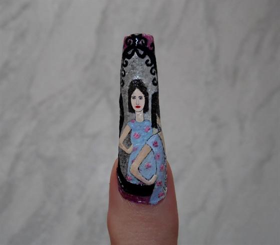 February's nail art- fashion boutique